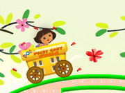 racing, dora , driving , girl , dora , fairy , cart , wheels