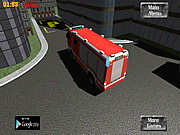 3D Fire Fighter Parking Game