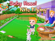Baby Hazel Kite Flying Game