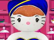 Hello Kitty Wedding Spa Makeover Game