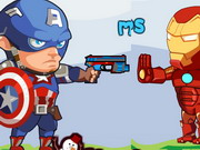 Avengers Hero Vs Alien Robot Game