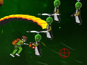 Ben 10 Parashooter Game