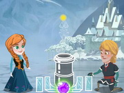 Anna And Kristoff Bubble Game