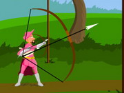 shooting, pink , archer