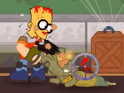 The Simpsons Town Defense Game