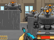 Rambo Robot War Game