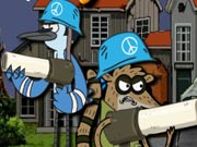 Regular Show Military Zone Game