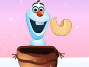 Olaf Catching Nuts Game