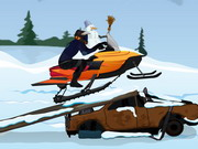 Snowmobile Rush Game