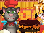 Talking Tom Cooking Halloween Cake Game