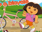 Dora Ride A Bicycle Game