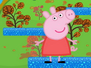 skill, adventure , animal , boy , girl , jumping , kid , platform , peppa , pig , jump