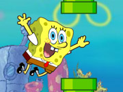 Flappy Spongebob Game