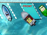 Spongebob Boat Parking Game