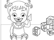 Baby Hazel Coloring Game