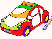 Cars Coloring Game Game