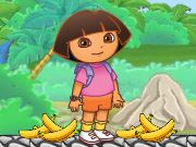 Dora Banana Feeding Game
