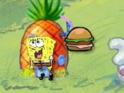 Spongebob Burger Swallow Game