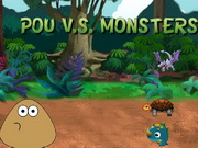 Pou Vs Monsters Game
