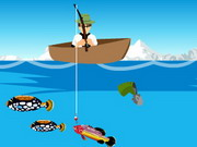 Ben 10 Fishing Game Game