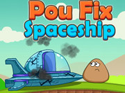 Pou Fix Spaceship Game