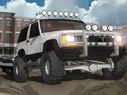 Jeep City Parking Game