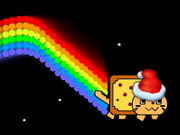 Nyan Cat Christmas Game