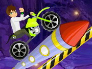 Ben 10 Bike Rush Game