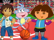 Diego Basketball Player Game