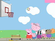 Peppa Pig Basketball Game