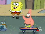 Spongebob Skater Game