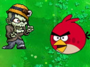 Angrybirds Zombies War Game
